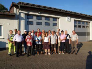 Die Bauhöfe in Bad Salzhausen und Nidda waren Ziele der SPD-Stadtverordneten während der jüngsten Sommertour, an der auch Bürgermeister Seum teilnahm.