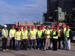 Die Mitglieder der SPD-Stadtverordnetenfraktion sowie der Vorstand des Ortsbezirks Ober/Unter-Widdersheim besuchten jetzt das Basaltwerk der Firma Nickel in Unter-Widdersheim.