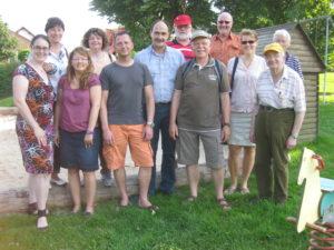 Erste Station der Sommertour der Sozialdemokraten war Ulfa.